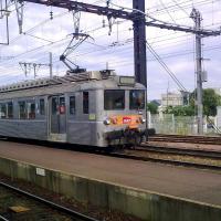 Autorail Z 5300 en gare des Aubrais