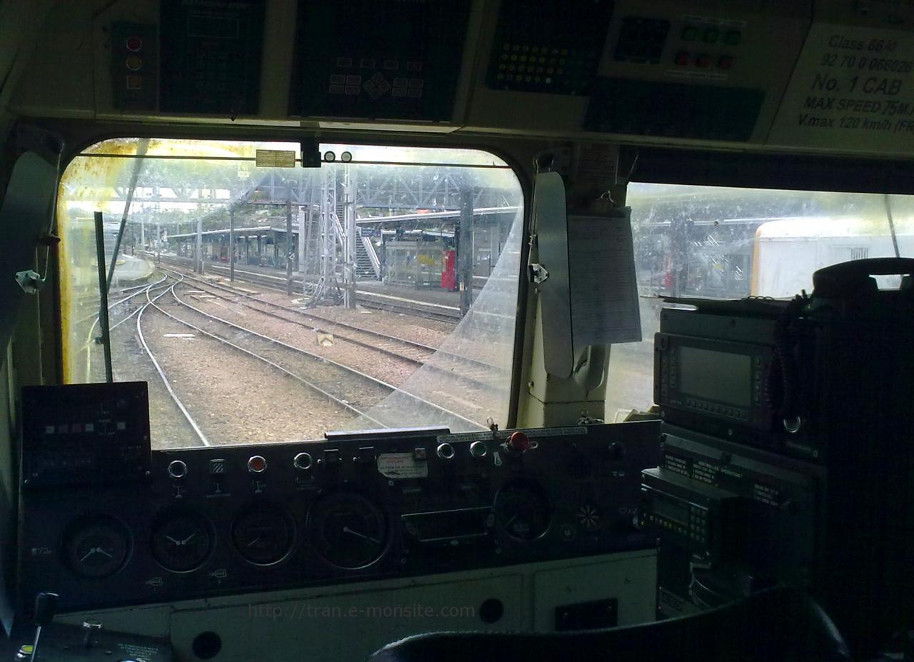 Intérieur Class 66