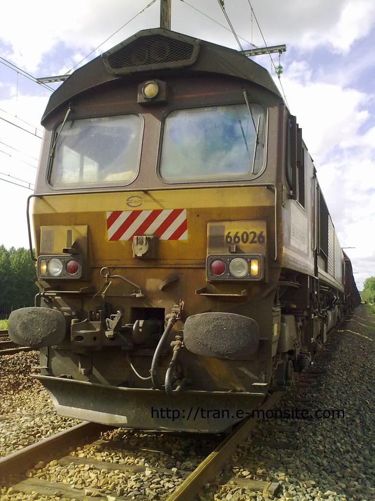 Locomotive Diesel Class 66026 de chez ECR