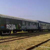 Wagons tagués