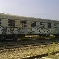 Wagon tagué