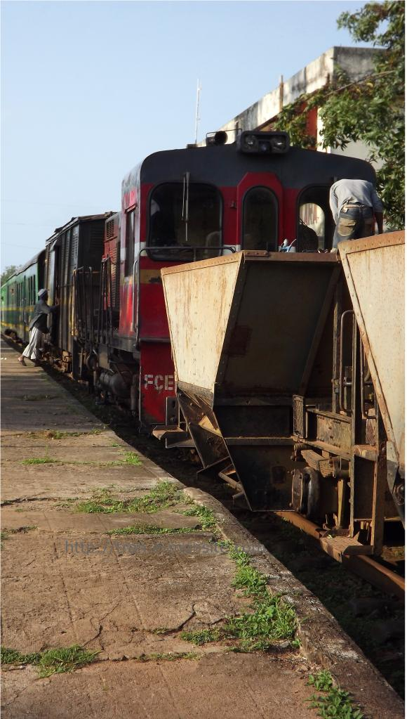 Train à Madagascar
