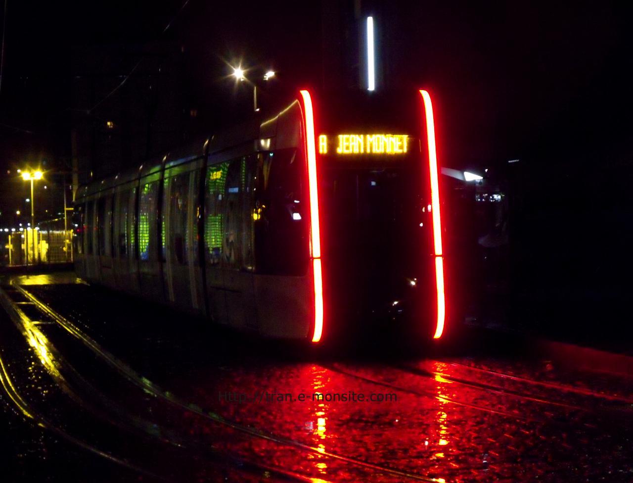 Tramway de Tours (arrière)