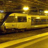 Autorail diesel X 73536 en gare de Tours