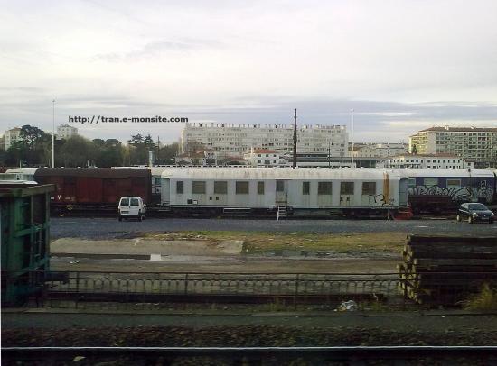 Wagon de chantier de l'infra