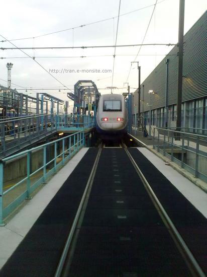 TGV Duplex au technicentre de Lyon