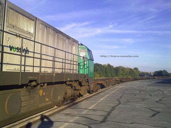 Locomotive diesel G 2000 Belge de B cargo en manoeuvre