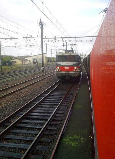 BB 9313 en gare de Morcenx