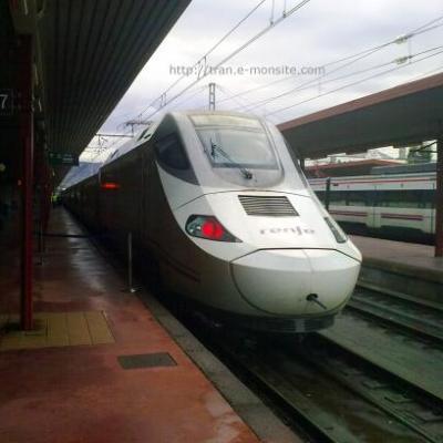 Talgo de la Renfe en gare d'Irùn