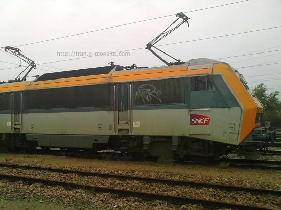 BB 26000 sur voie de service