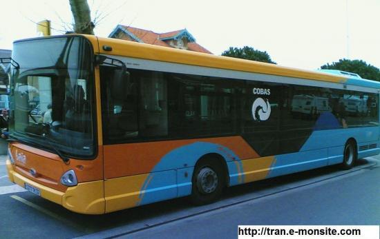 Bus de la ville d'Arcachon