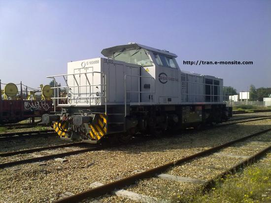 Locomotive G 1000 BB de chez ECR