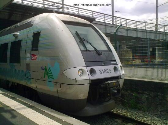 AGC B 81825 péliculé en région Aquitaine