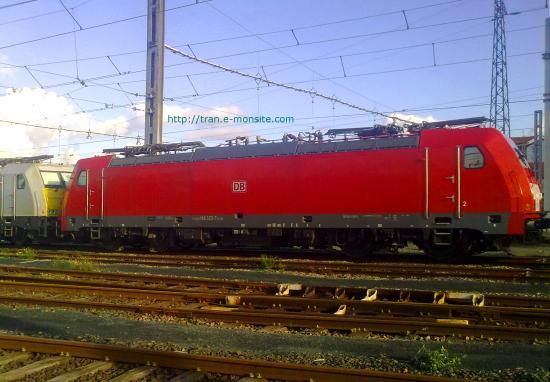 BR 186 325-7 de chez ECR aux couleurs de la DB