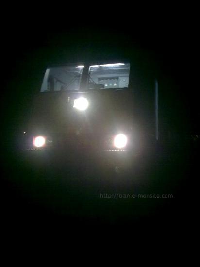 BR 186 de chez ECR de nuit