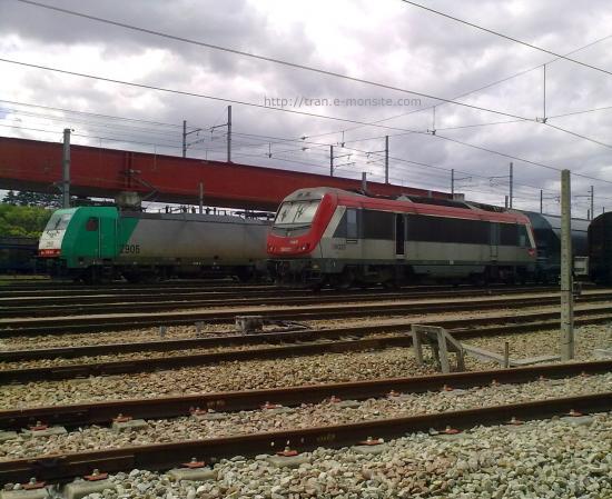 BB 36021 et Br 186 Belge