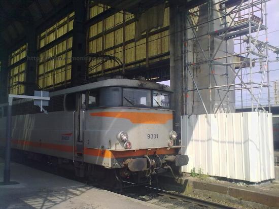 BB 9331 en gare de Bordeaux
