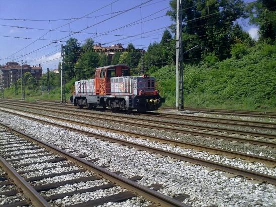 Locomotive de manoeuvre espagnole en provenance de Irùn