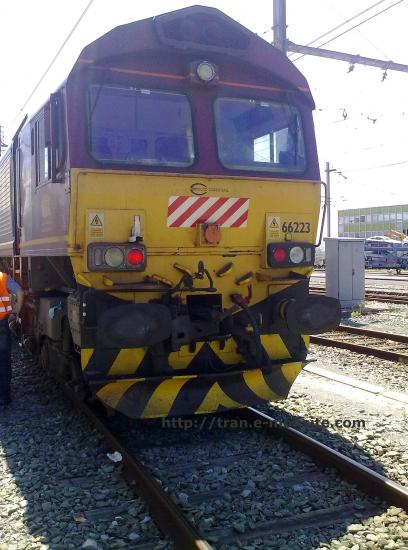 Locomotive Class 66 de chez Eurocargorail
