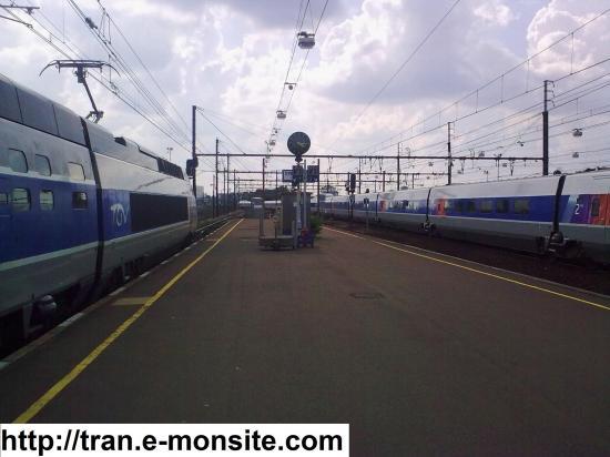 TGV Atlantique en gare de Saint Pierre des Corps