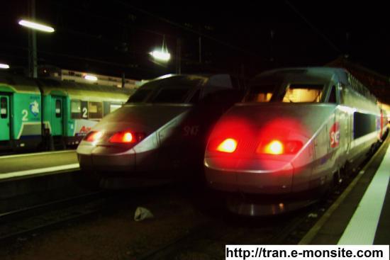 TGV Atlantique en gare de Tours