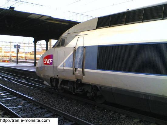 TGV Atlantique relooké par Lacroix en direction de Strasbourg et en gare de Bordeaux Saint Jean