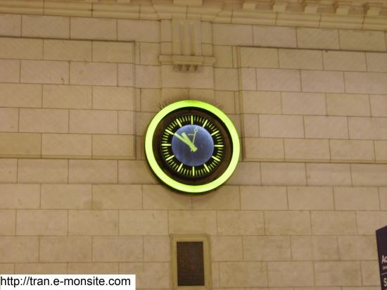 Horloge SNCF