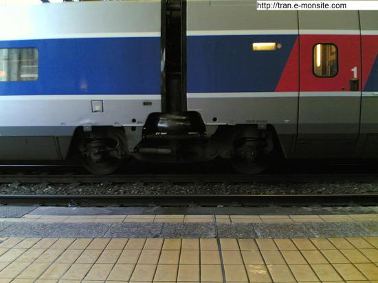 Rame 2éme classe TGV Atlantique