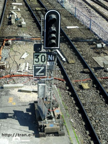 Signal provisoir de chantier