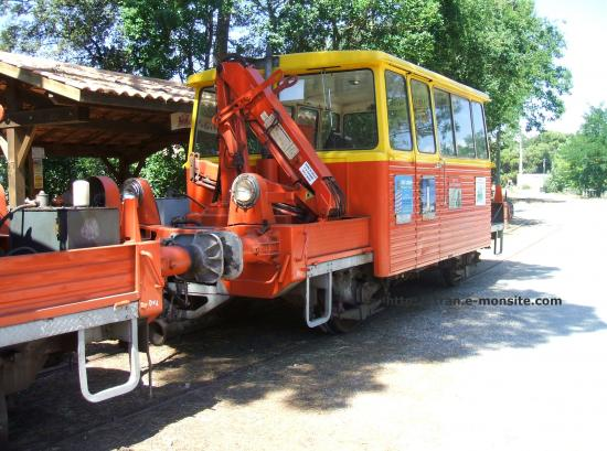 Train touristique de la pointe de Grave