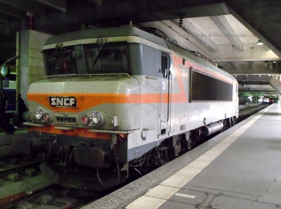 BB 7324 en gare de Paris Montparnasse