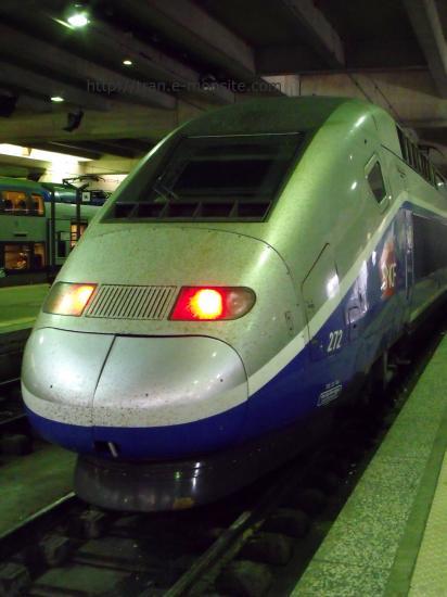 TGV Duplex en gare de Paris Montparnasse