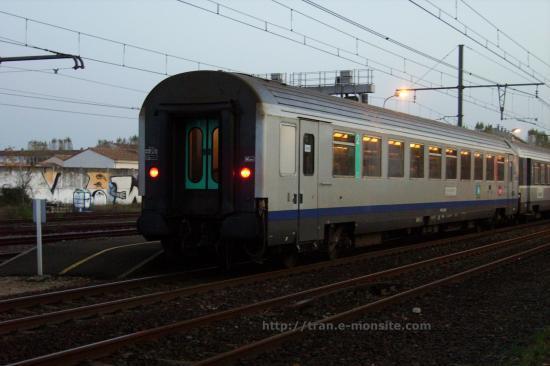 Ter Aquitaine en gare de Bègles