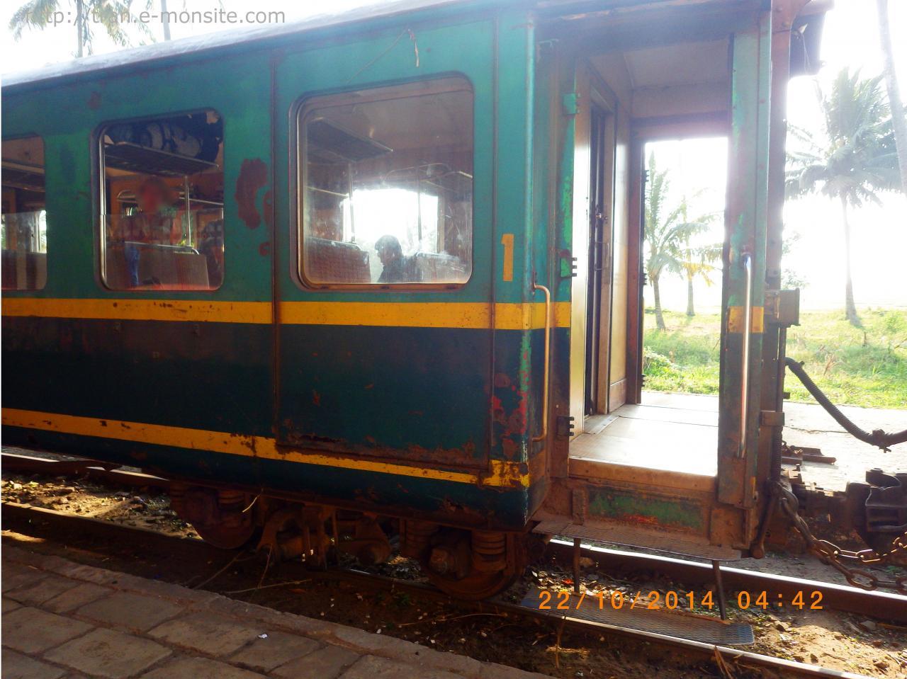 Train à Madagascar