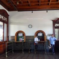Intérieur de la gare de San José au Costa Rica