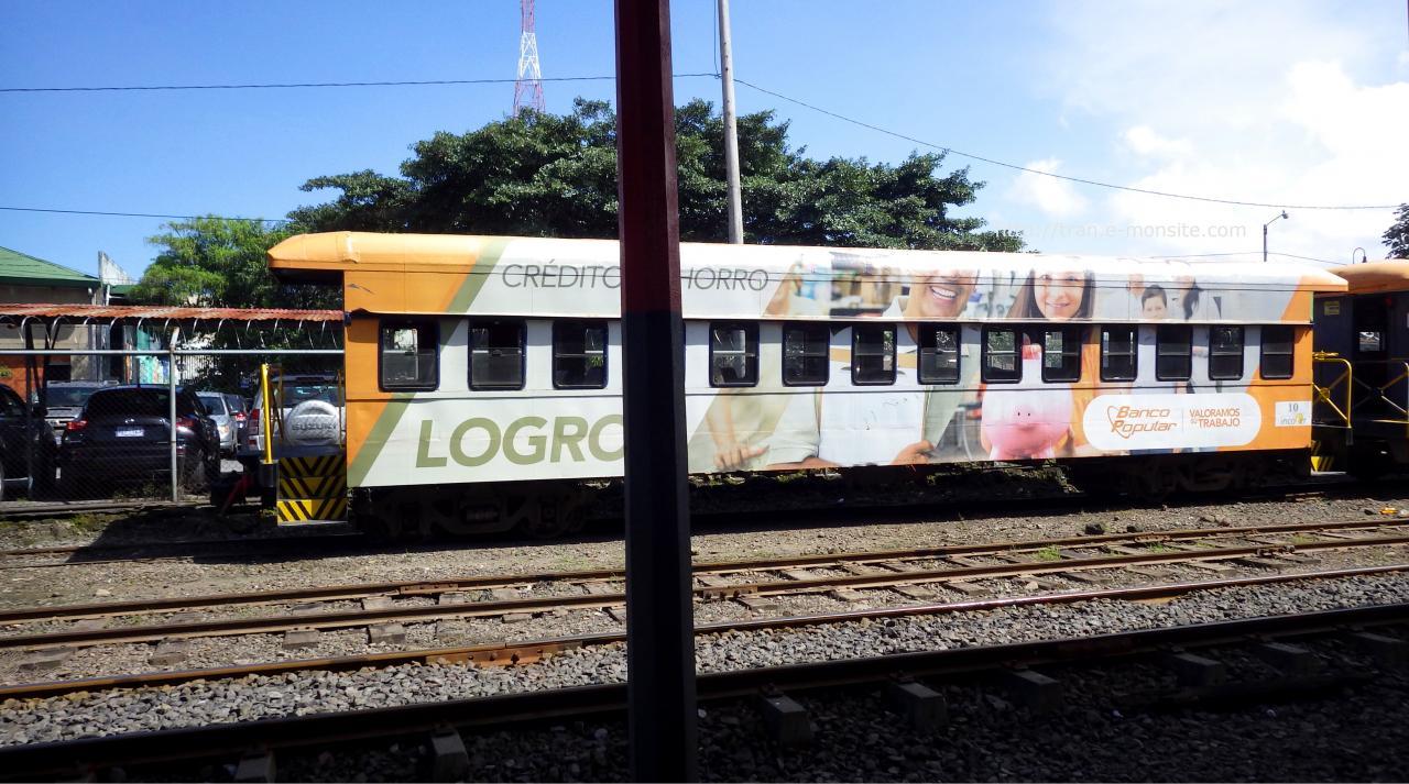 Trains au Costa Rica