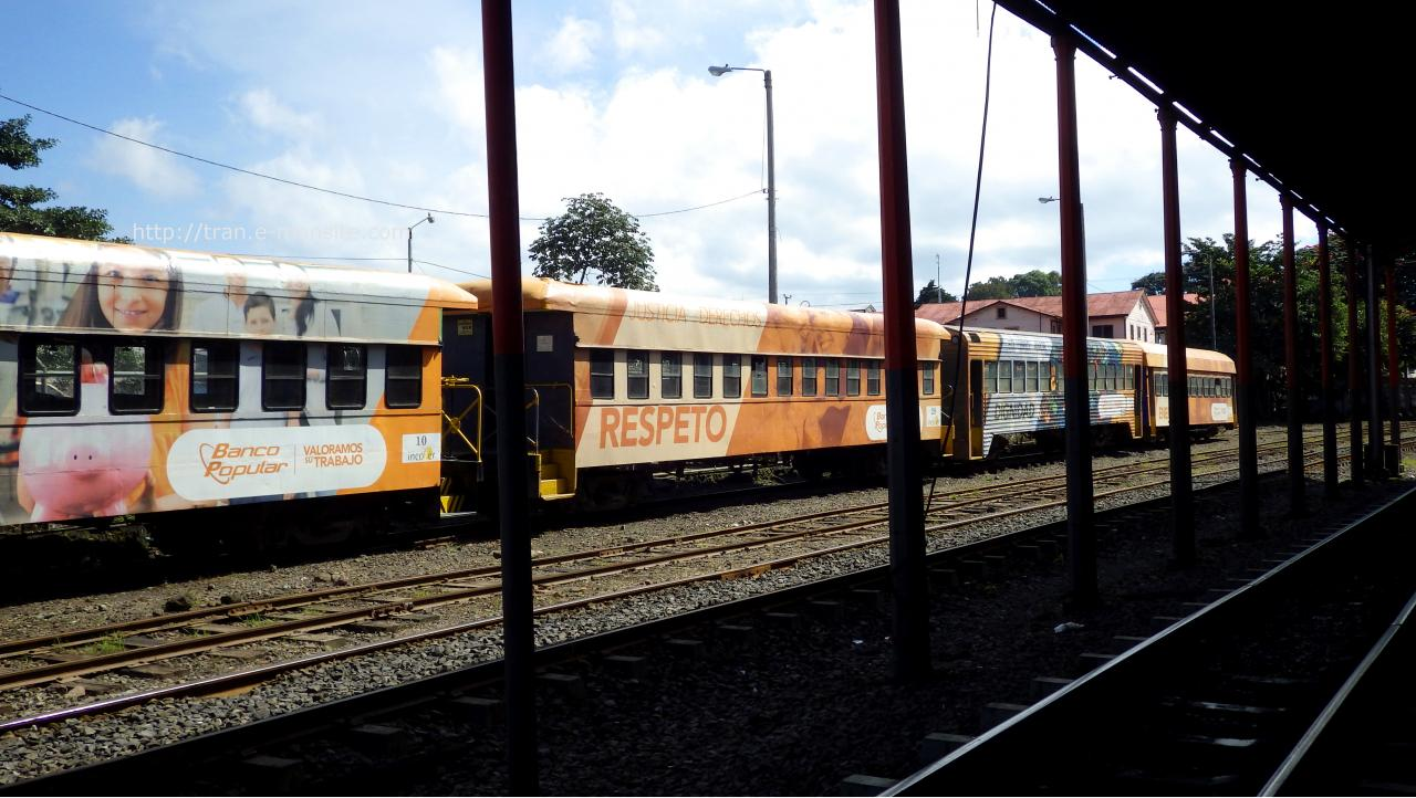 Trains au Costa Rica