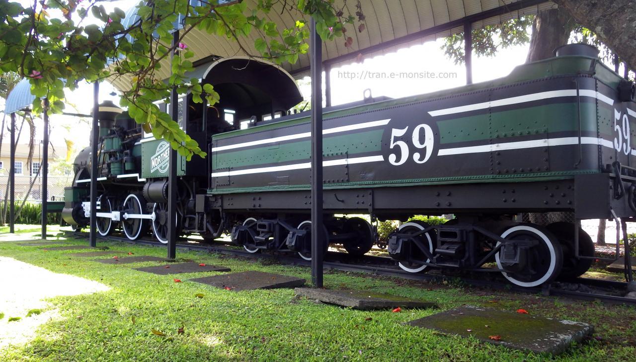 Ancienne Locomotive vapeur du Costa Rica