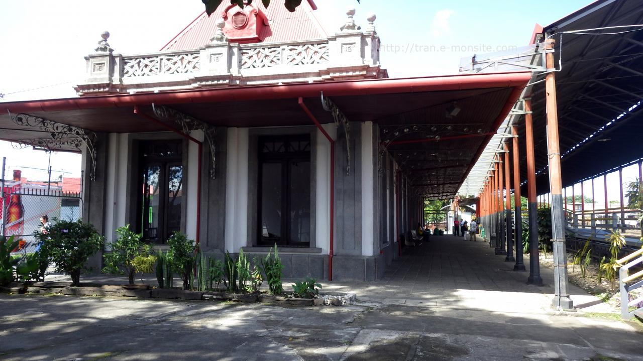 Gare de San José au Costa Rica