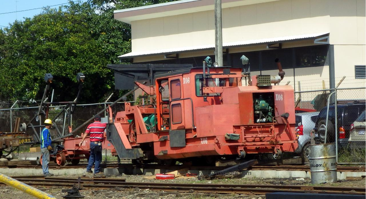 Train de chantier au Costa Rica