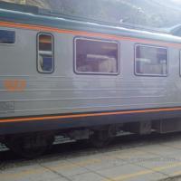 Train de voyageurs au Pérou