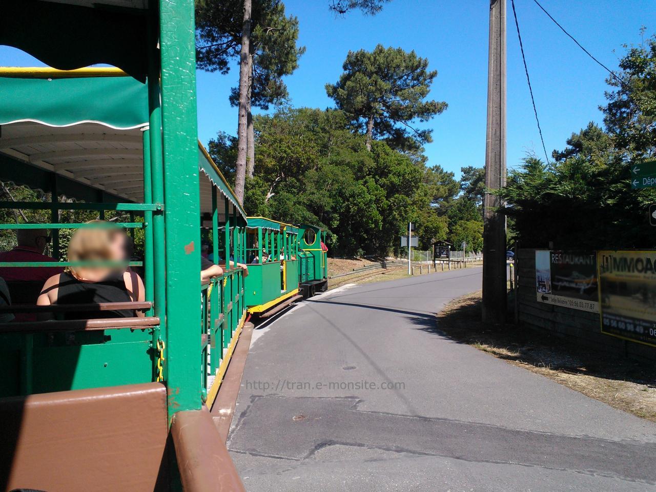 Train touristique de la pointe du Cap Ferret