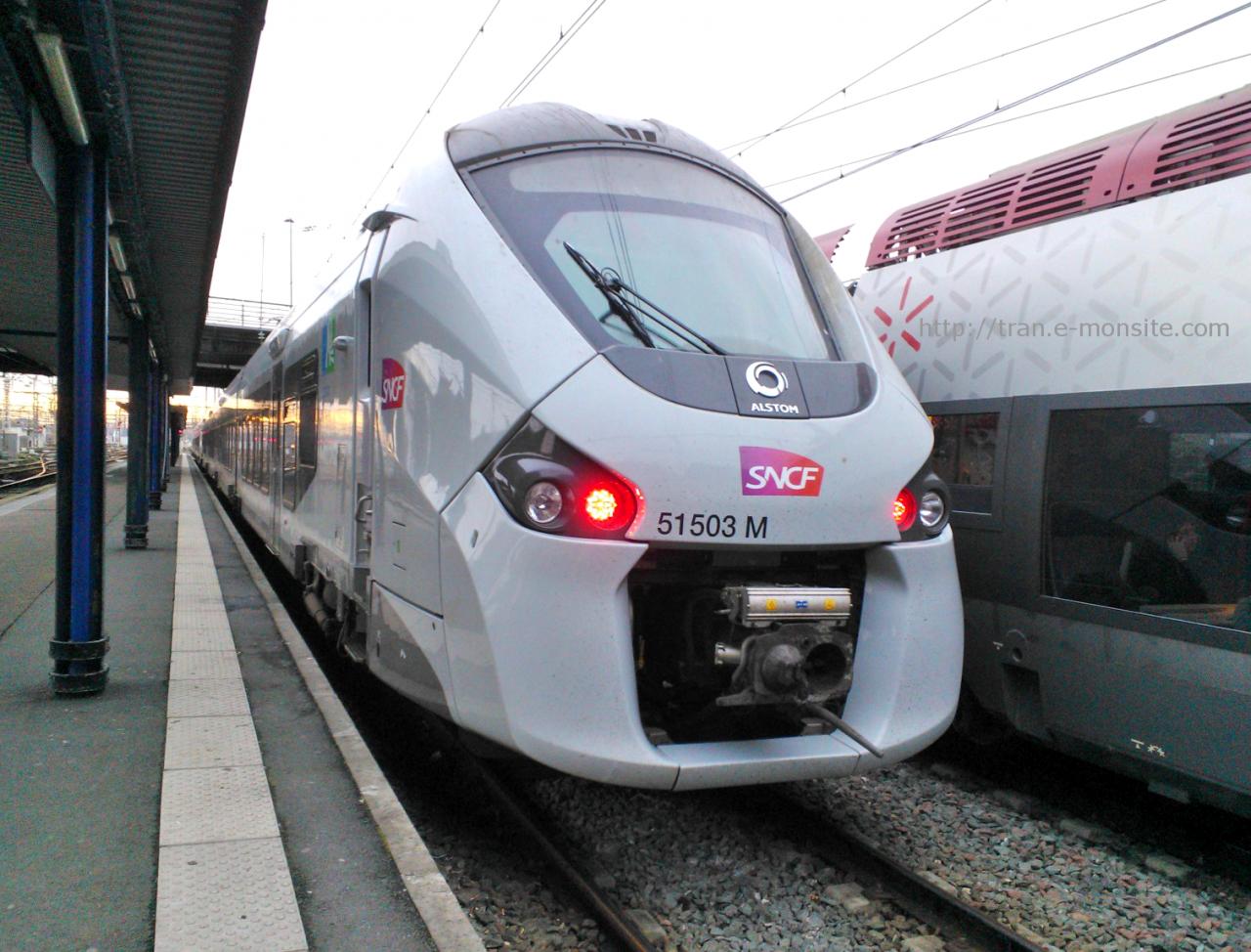 Nouvel Autorail Regiolis  51503 Ter Aquitaine