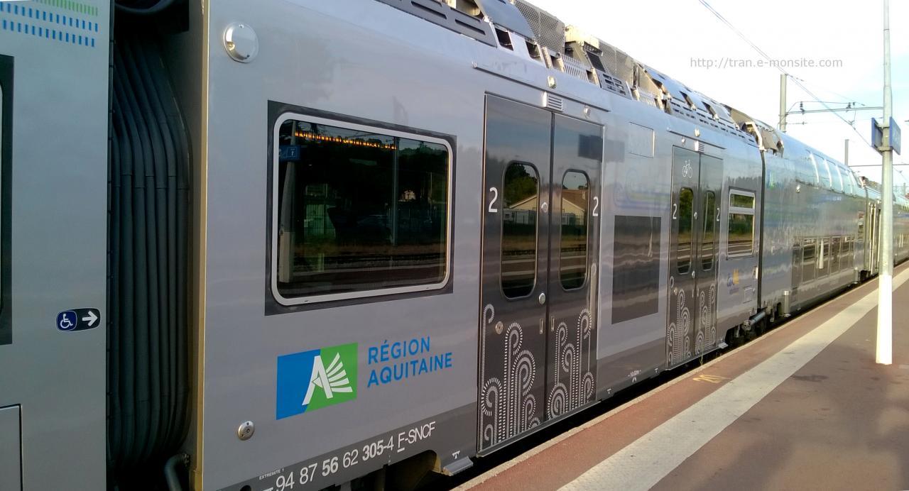 Nouvel Autorail Regio 2N Ter Aquitaine