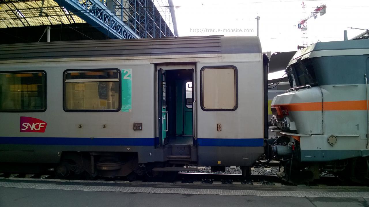 BB 7407 en tête d'un Ter Aquitaine pour Hendaye