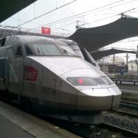 TGV Atlantique en gare de Bordeaux