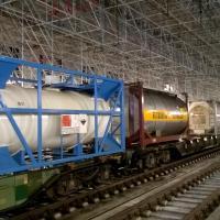 Train de Fret en gare de Bordeaux