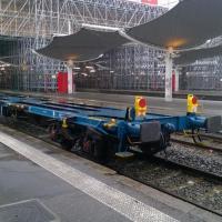 Queue de train de Fret en gare de Bordeaux