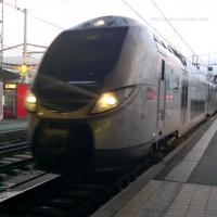 Regio 2N entrant en gare de Bordeaux