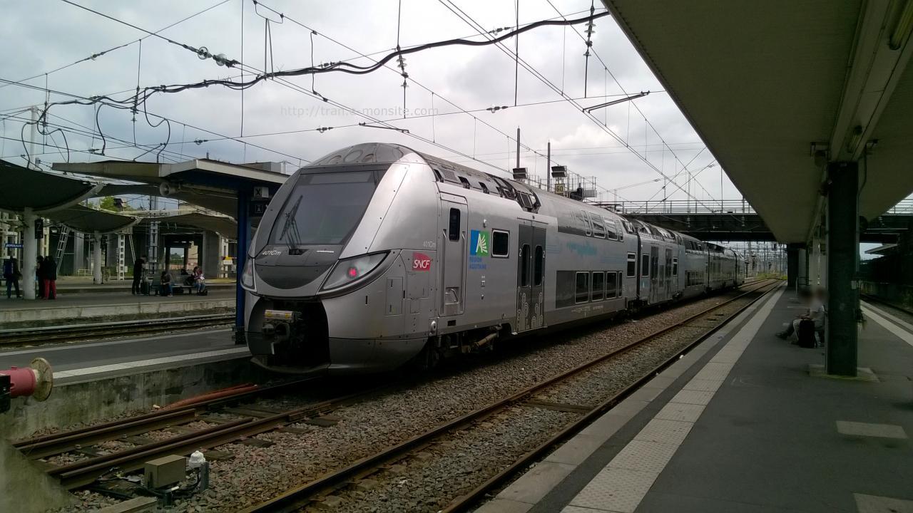 Regio 2N en gare de Bordeaux